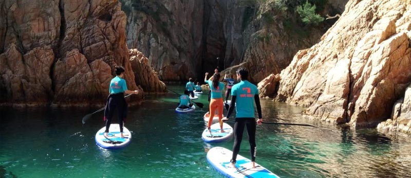 Excursiones Paddlesurf Costa Brava
