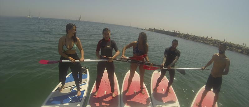 Excursiones Paddlesurf Garraf