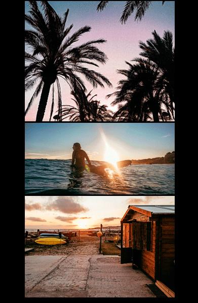 Escuela Club de Surf WAVEADDICT en Vilanova, Cubelles, Barcelona, Castelldefels y otras playas